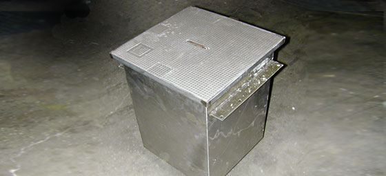 Type M floor box